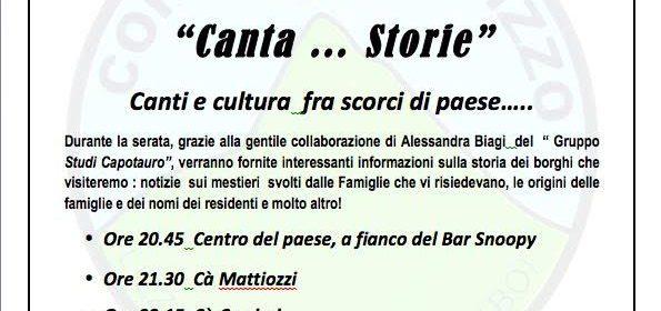 """""""Canta…Storie"""" a La Cà"""
