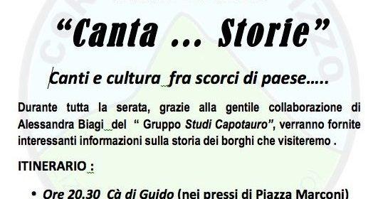 """""""Canta…Storie"""" a Lizzano"""