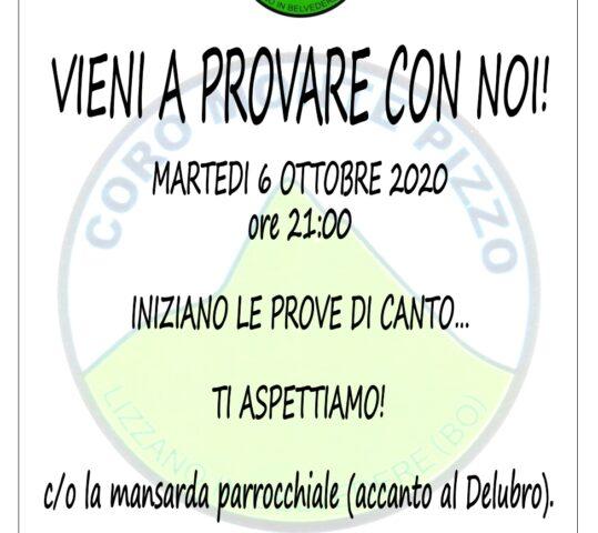 RICOMINCIAMO LE PROVE!!!